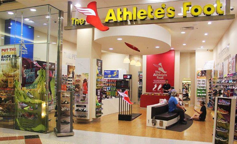 athlete s foot shoe store