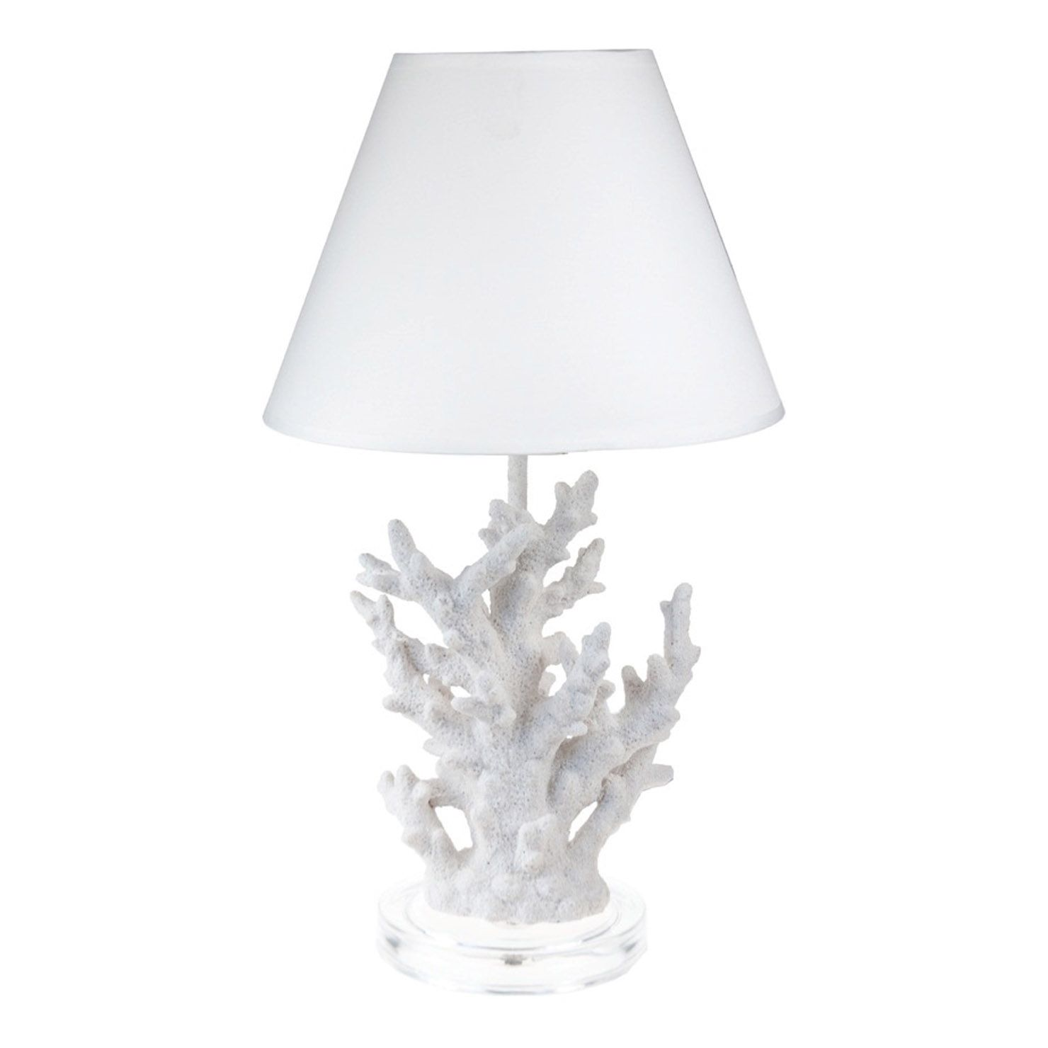 Quay Accents White Coral Lamp