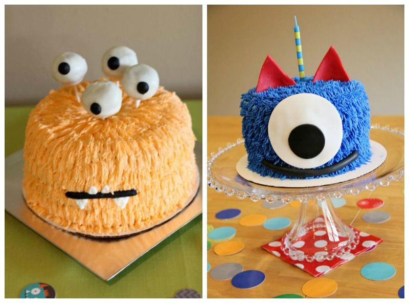 Top 5 Kids Birthday Cake Ideas Monster birthday invitations Pear