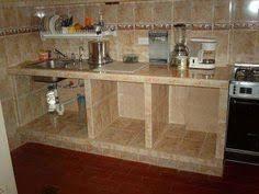 Resultado de imagen para cocinas de cemento y ceramica for Cocinas hechas de cemento