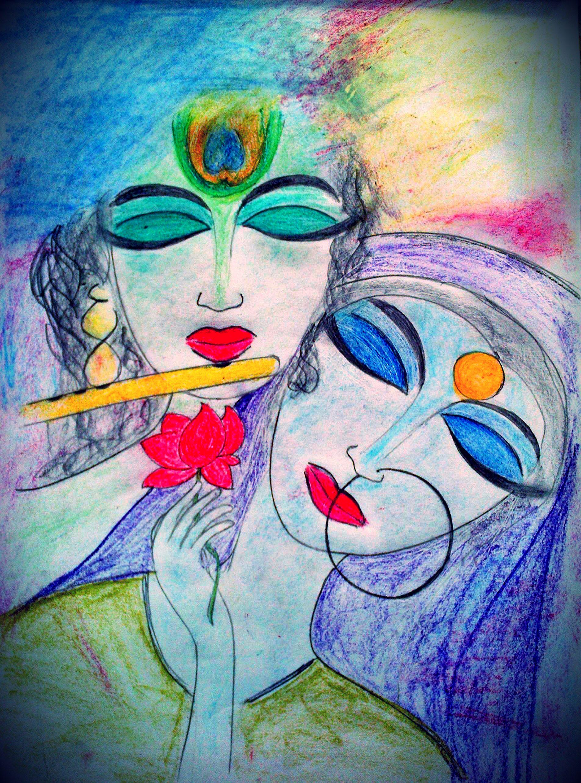 radha krishna pencil sketches kishna krishna