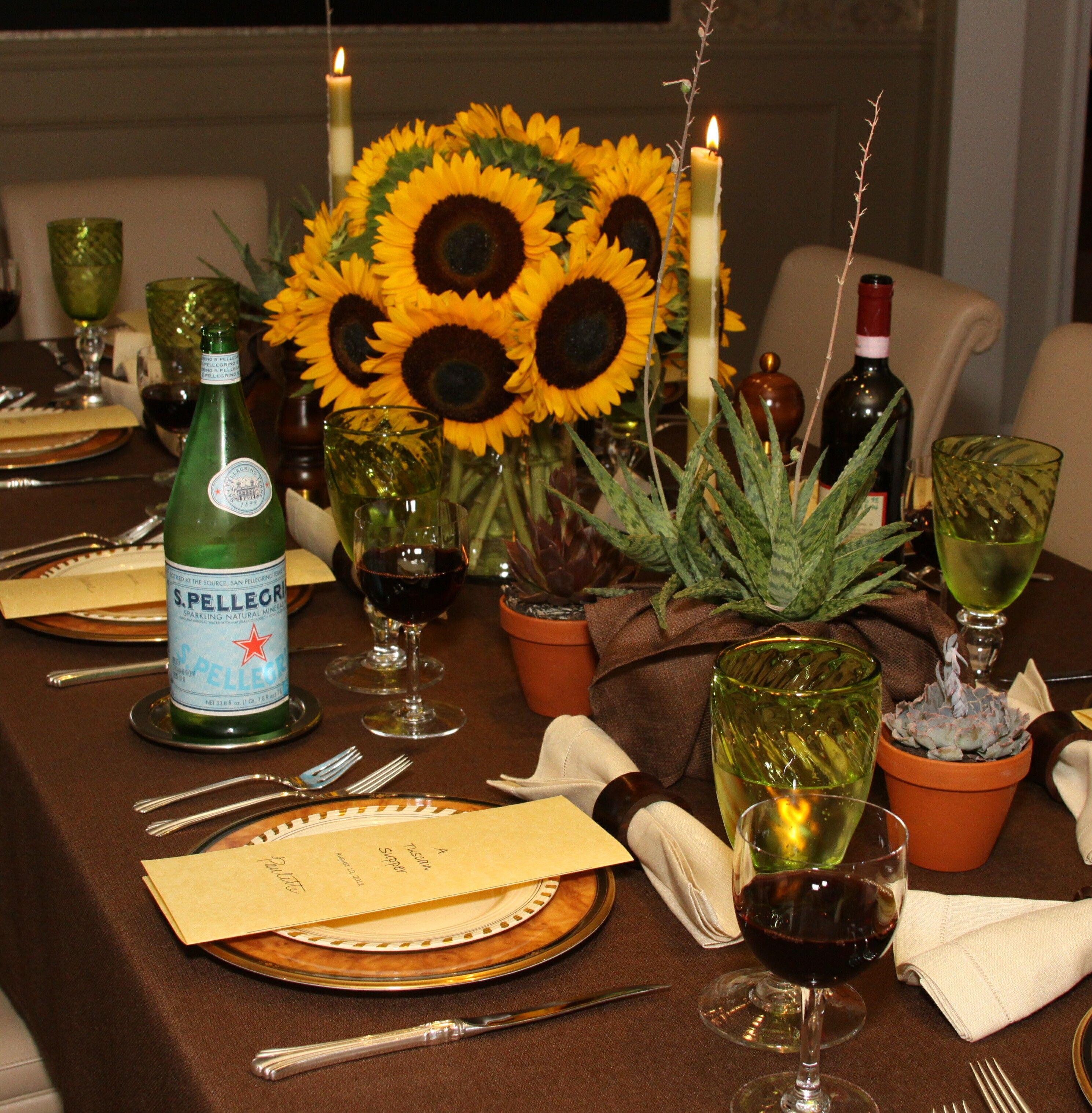 Italian Feast Tablescape Italian Dinner Party Decorations