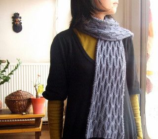 Free Pattern: Chromosome Scarf by Orlane | Scarf pattern ...
