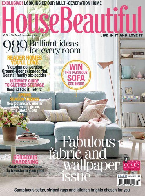 House Beautiful Uk Issue 04 2014