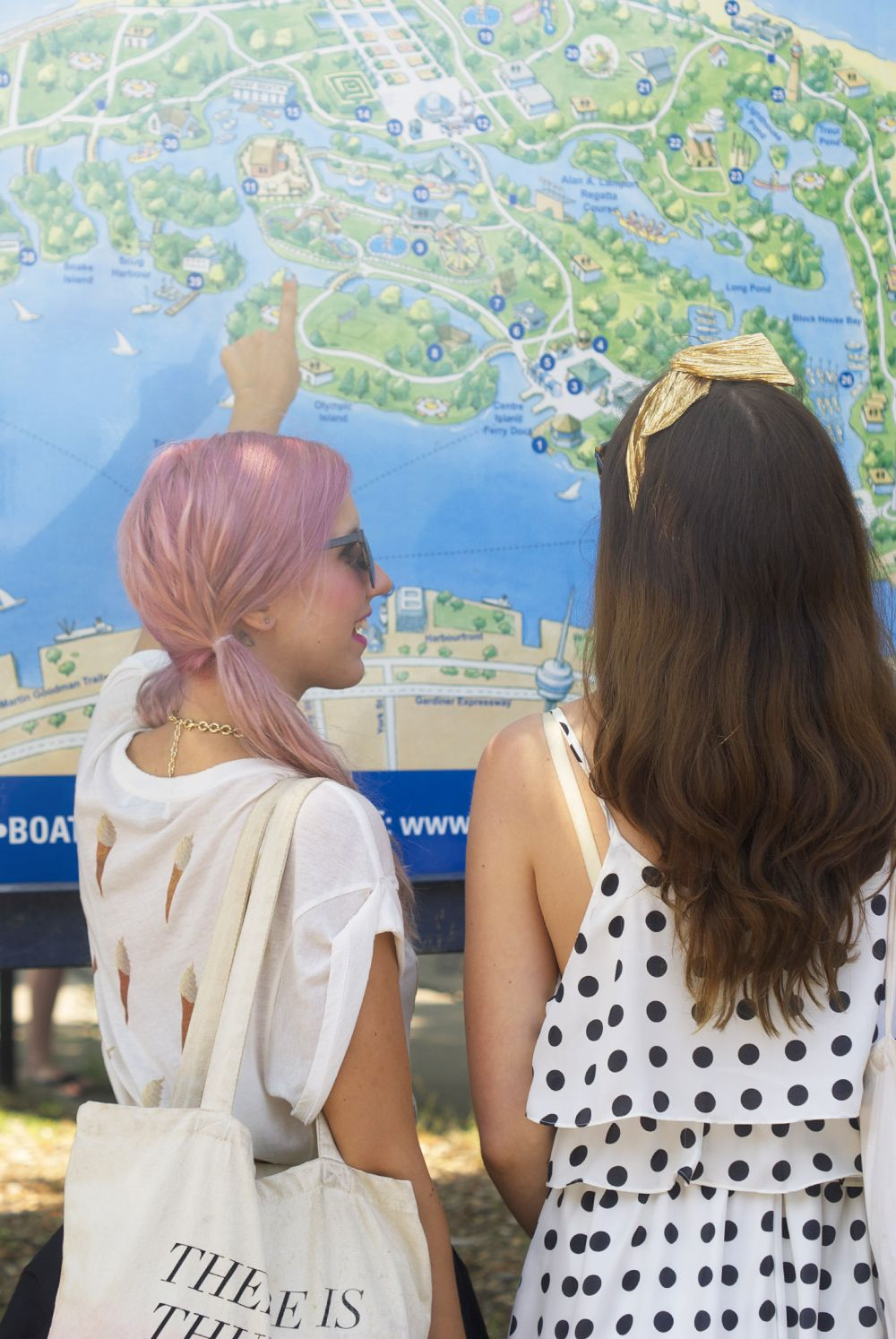'Take Me Out' with Random Acts of Pastel // Toronto Island - Bicyclette Boutique