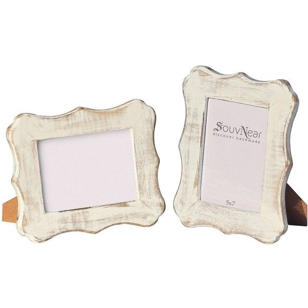 photo frame 5x7 new gift ideas handmade shabby chic white washed 20 - Whitewashed Picture Frames