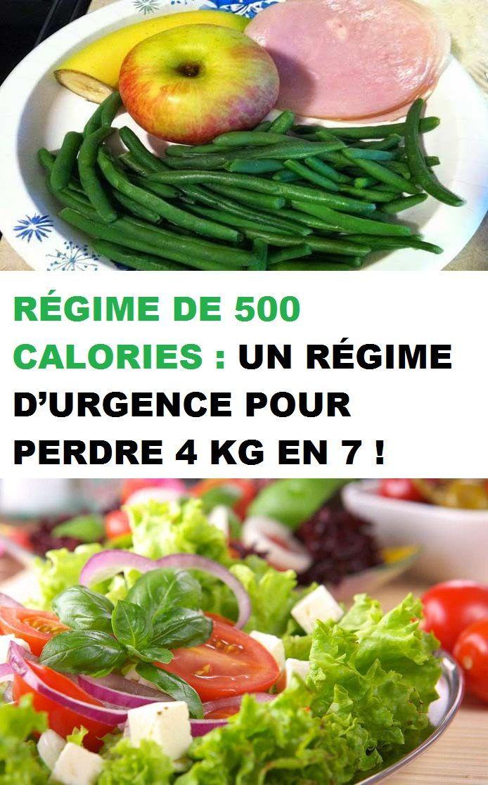 Regime De 500 Calories Un Regime D Urgence Pour Perdre 4 Kg En 7 Healthy Recipes 500 Calories Healthy