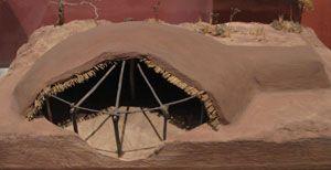 Model Of Mogollon Pithouse Unusual Buildings Mandan Las Cruces