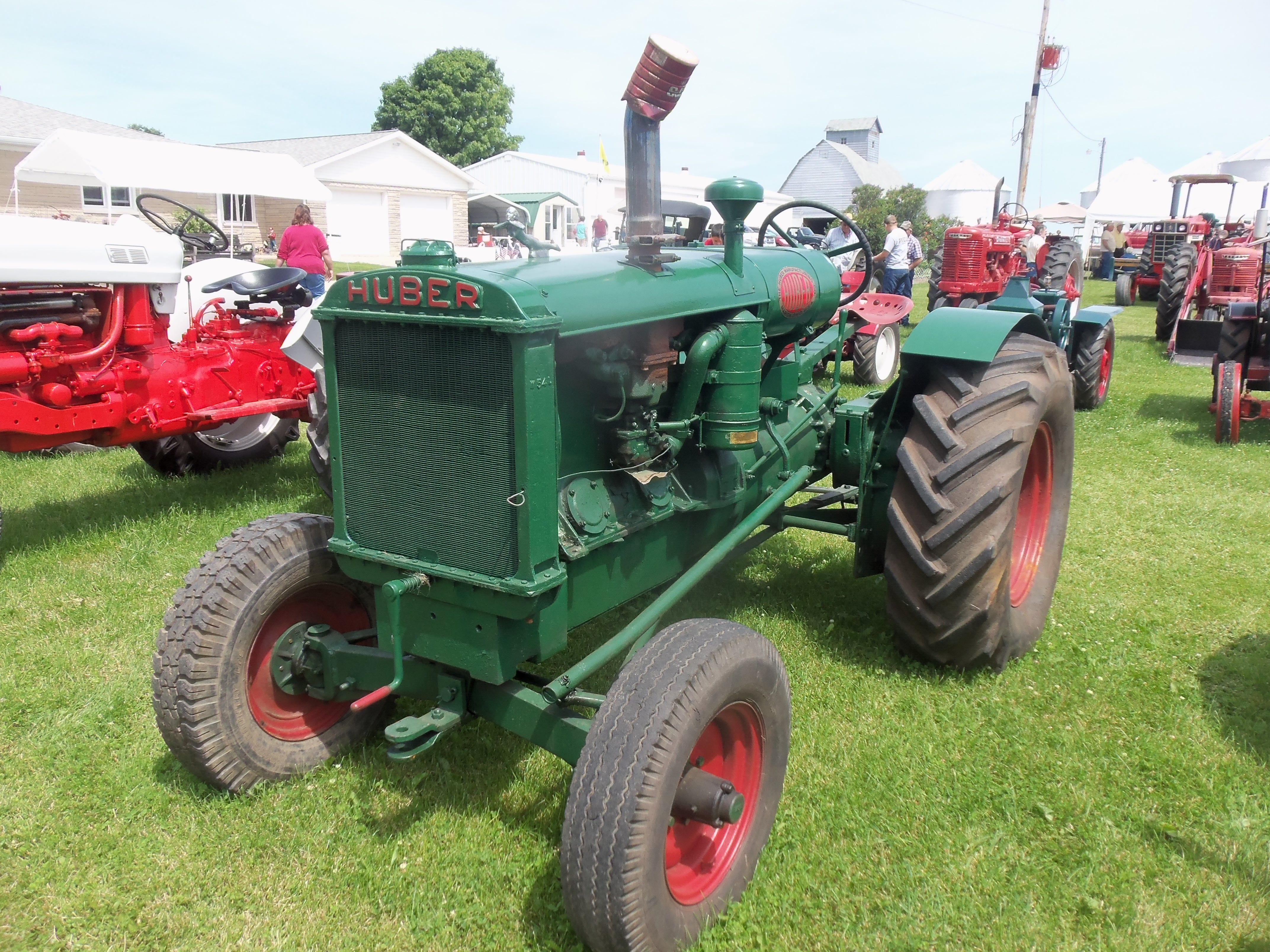 Antique Tractors In Ohio : Green huber tractor from marion ohio pinterest