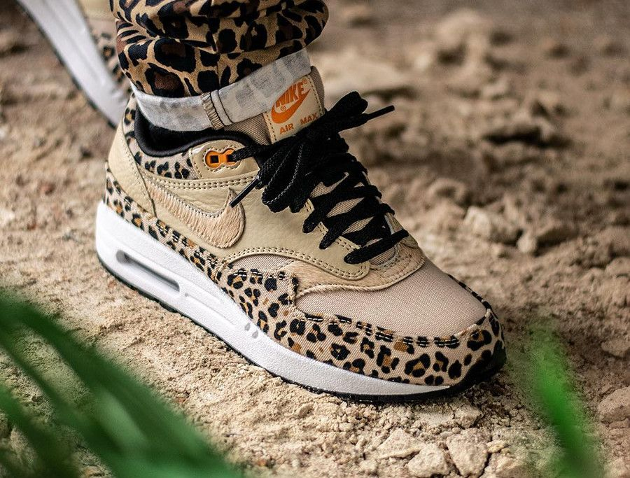 basket nike air max leopard