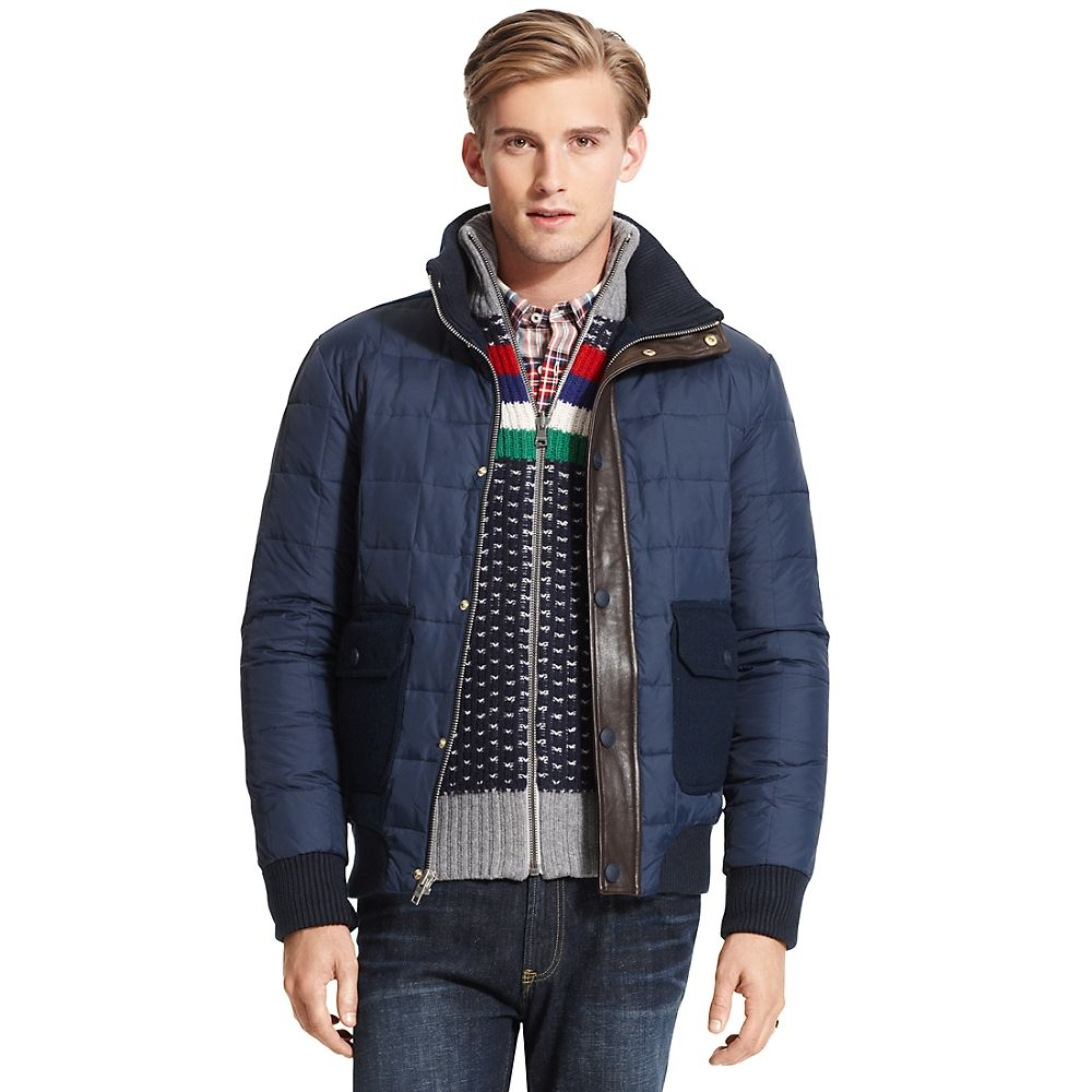 7587792d Tommy Hilfiger Quilted Puffer Jacket in Blue for Men (MALDIVES NAVY/BLUE) |  Lyst