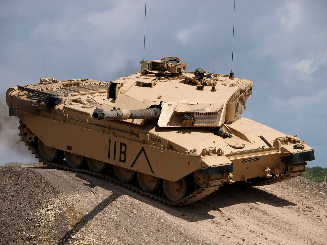 Challenger 1 With Own Name Churchill With Images Tank