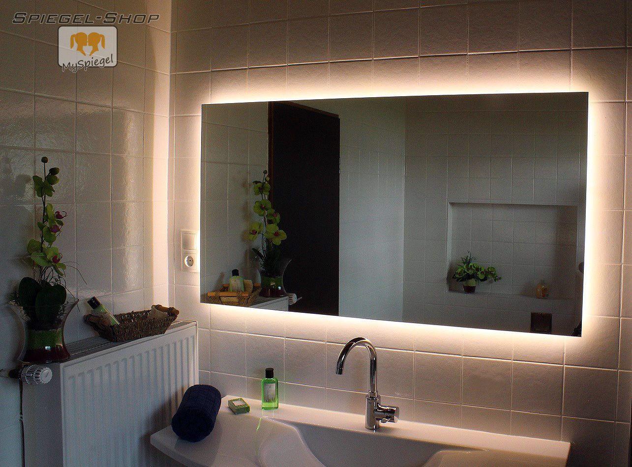 Led Badspiegel Nova Spiegel Nach Mass Mit Beleuchtung Wandspiegel Lichtspiegel Ebay Badspiegel Spiegelschrank Led Beleuchtung