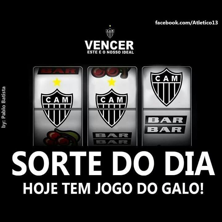 Sorte Do Dia Hoje Tem Jogo Do Galo Clube Atletico Mineiro Jogo Do Galo Foto Dinheiro