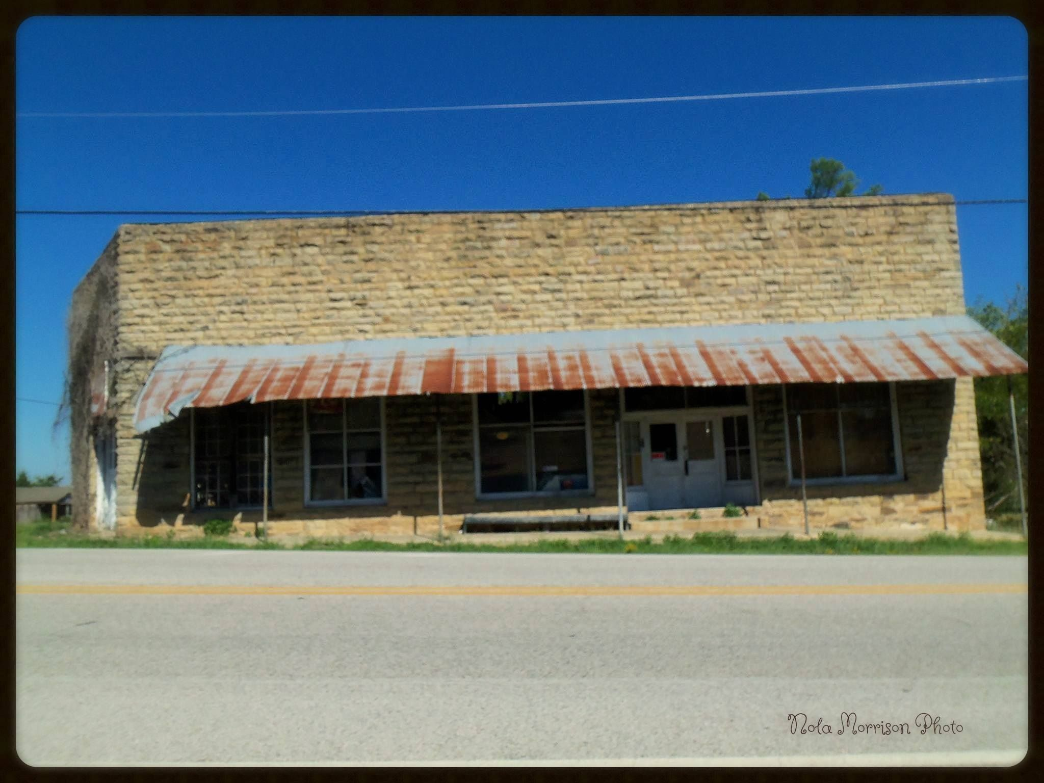 Once a very busy store in Big Flat, AR. They had about anything you needed.