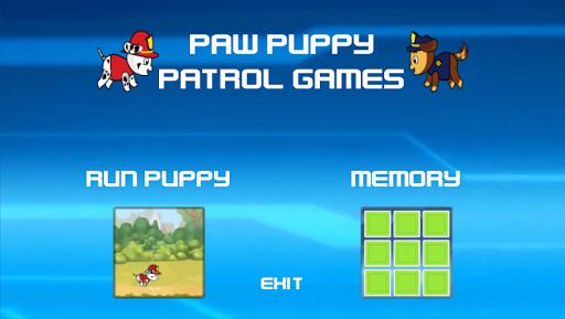 Este es un juego adictivo y lleno de emoción en una carrera sin fin.<p>Diviertete con los dos juegos que se incluyen<br>1.- Juego de memoria   <br>2.- Elige a tu cachorro preferido y recoge el máximo de huesos  posibles <p>Prepárate para el nuevo juego 2D GRATIS con unos increíbles y coloridos gráficos!<p>JUEGO increíble!<p>Disfrutar de el, Nuestra garantía es su diversión!<p>CARACTERISTICAS:<p>- Animaciones de alta calidad<br>- controles de una sola pulsación<br>- controladores de juegos…