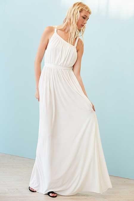 Silence Noise Coralina Cupro Asymmetrical Maxi Dress Asymmetrical Maxi Dress Maxi Dress Pretty Maxi Dress