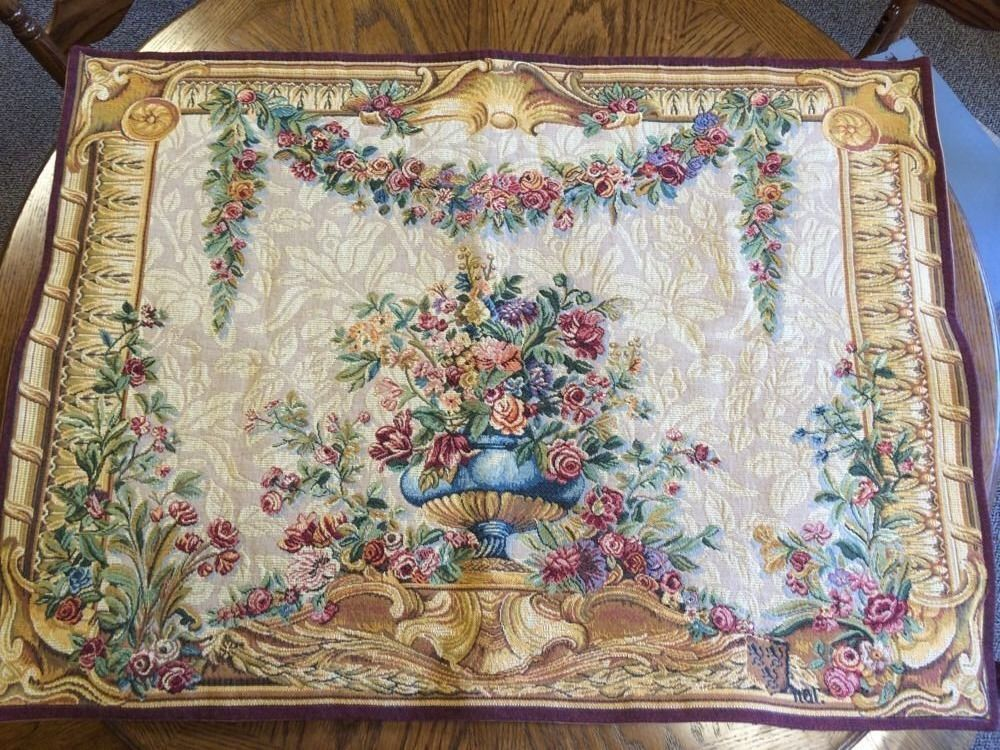 French Tapestry Tapisserie D Hallin Point Des Meurins