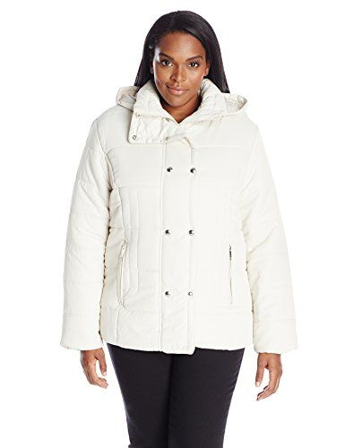 281f513e7a9 Fashion Womens Plus Size Short Puffer Jacket www.fashionbug.us  plussize 1X  2X 3X 4X 5X 6X