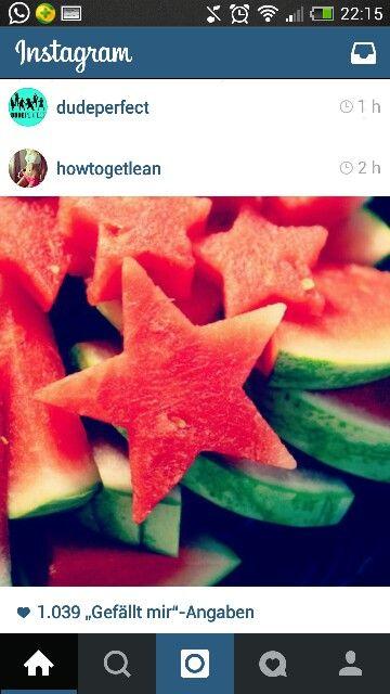 Melonen Sterne