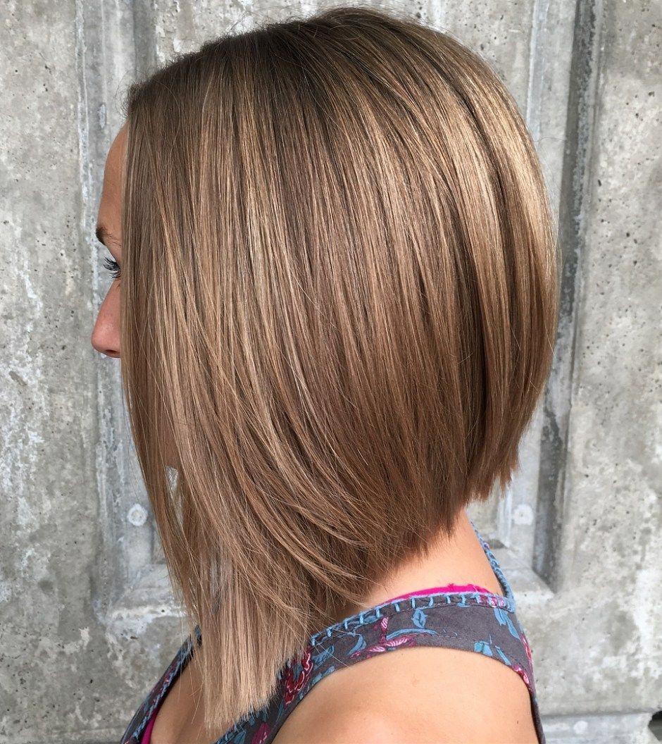 20 Chic Long Inverted Bobs To Inspire Your 2020 Makeover Inverted Long Bob Inverted Bob Hairstyles Long Bob Hairstyles