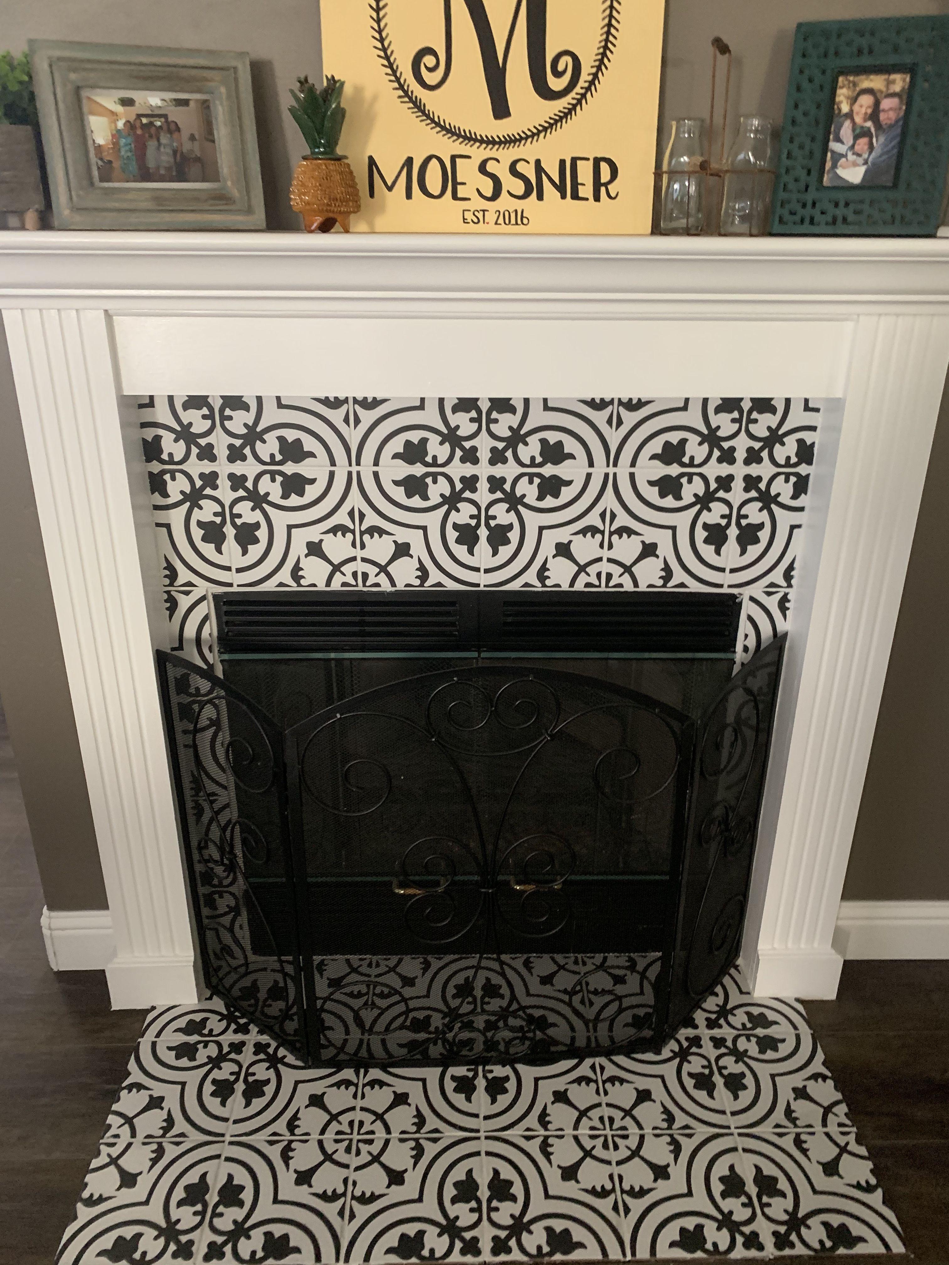 fireplace fireplace fireplace tile