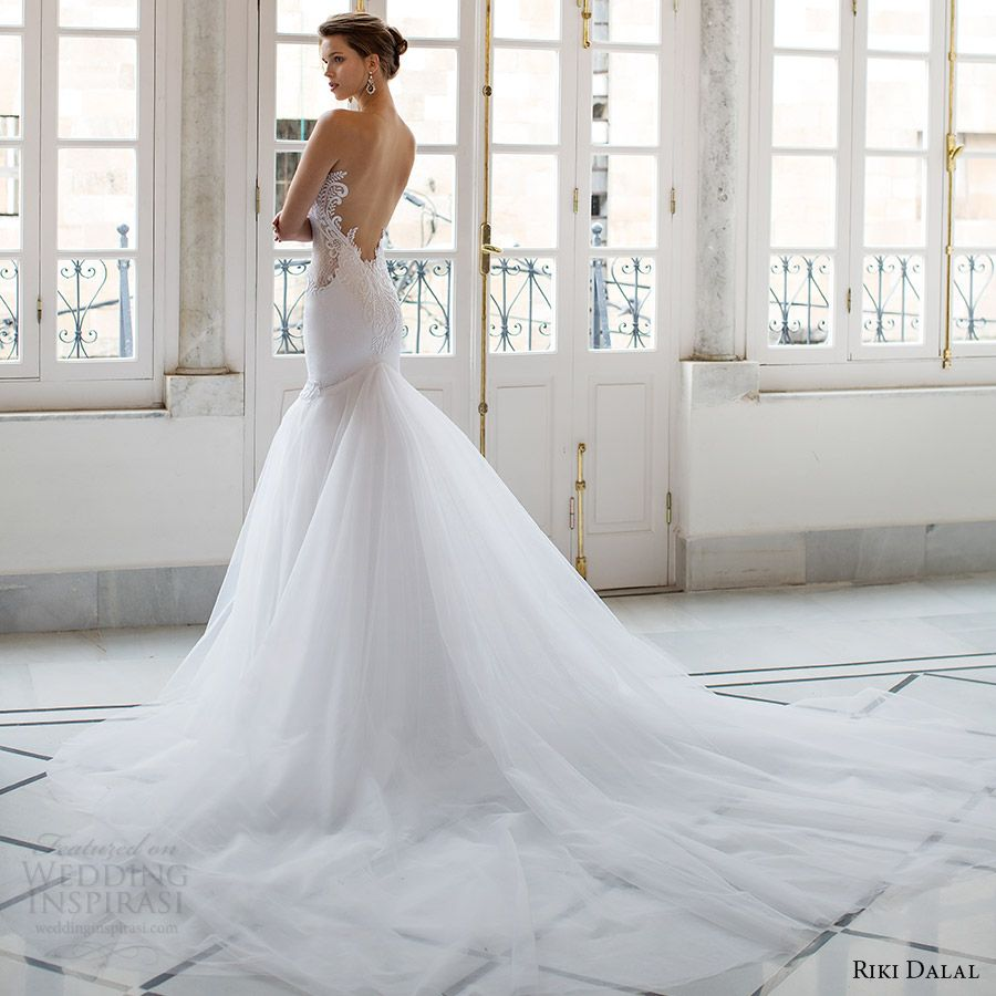 Sheer wedding dress  Riki Dalal  Wedding Dresses u ucVeronaud Bridal Collection