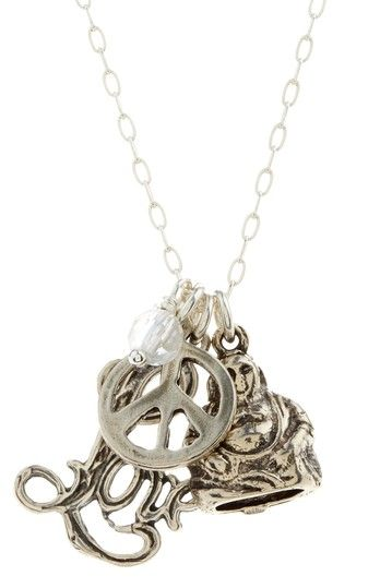 Peace, Love & Happiness Necklace