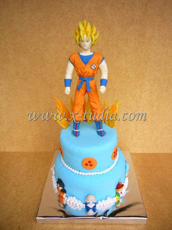 Cake Dragon Ball Goku Muecos En Porcelana Pinterest Dragon