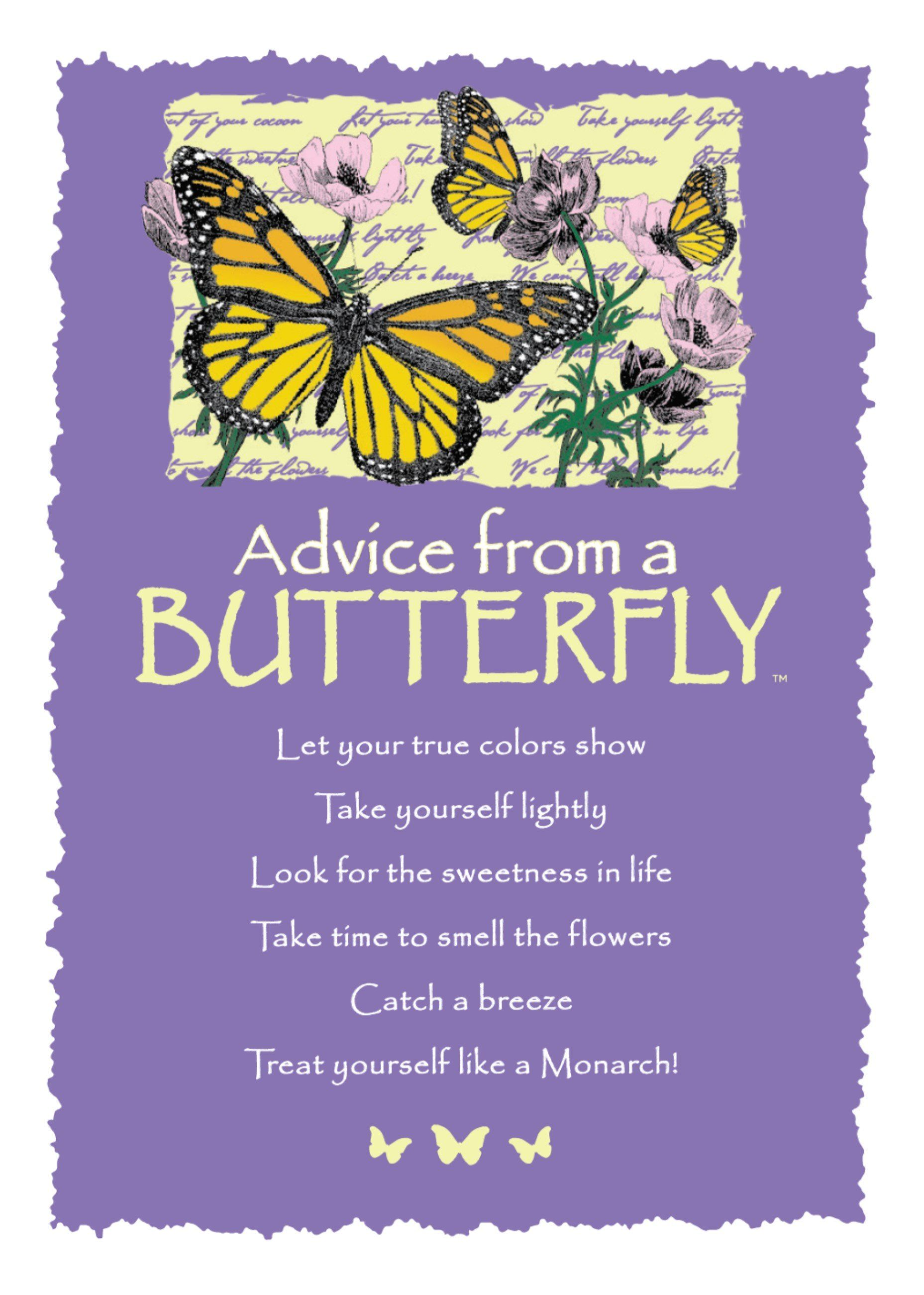 Advice From A Fairy Frameable Art Card Your True Nature Inc Butterfly Quotes Dragonfly Quotes Advice Quotes
