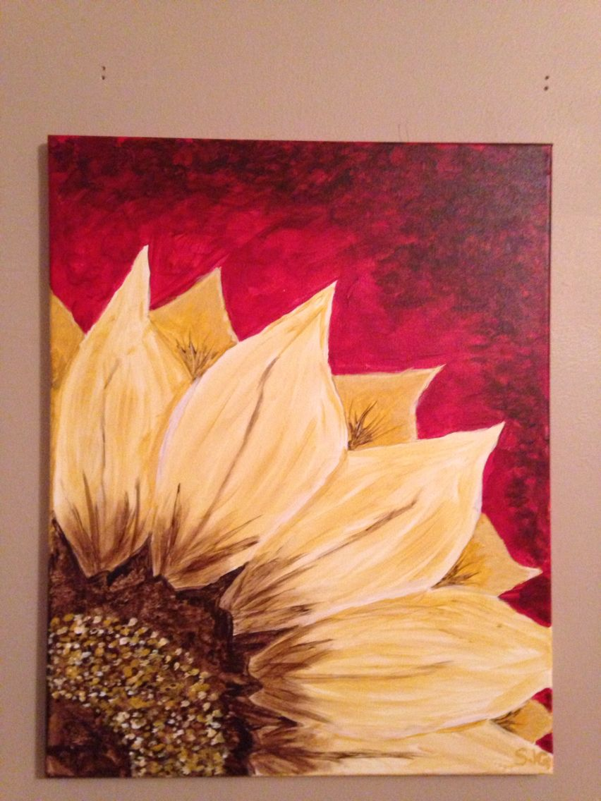 My first painting #FortSmithSocialPainting