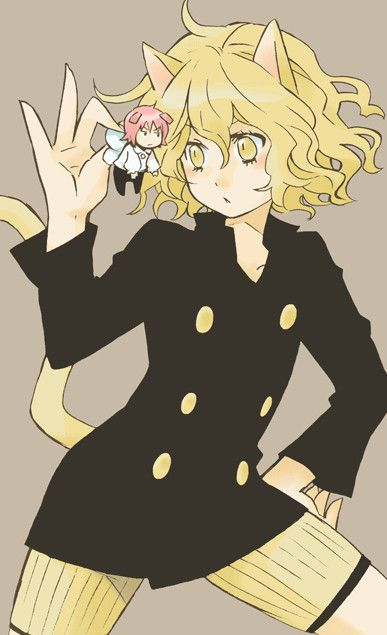 Pitou And Pouf Hunter X Hunter Pinterest Hunter X Hunter And Anime Fascinating Pouf Hxh
