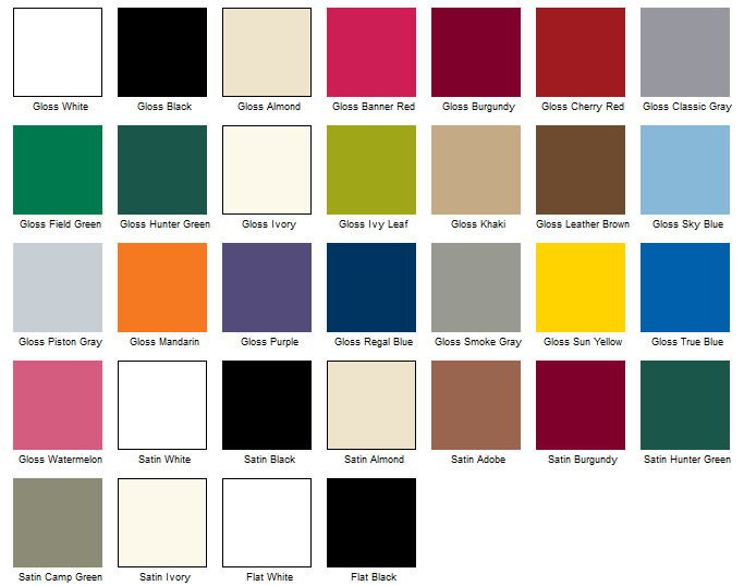 High quality spray paint colors 4 krylon spray paint color chart