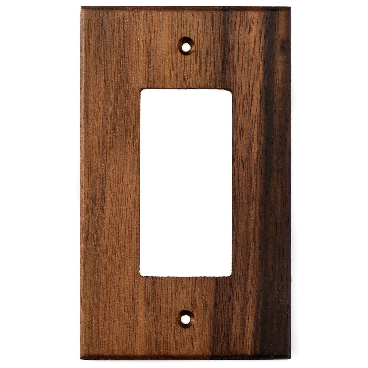 Oak Wood Wall Plate 1 Gang Duplex Outlet Cover Plates On Wall Outlet Covers Wood Wall