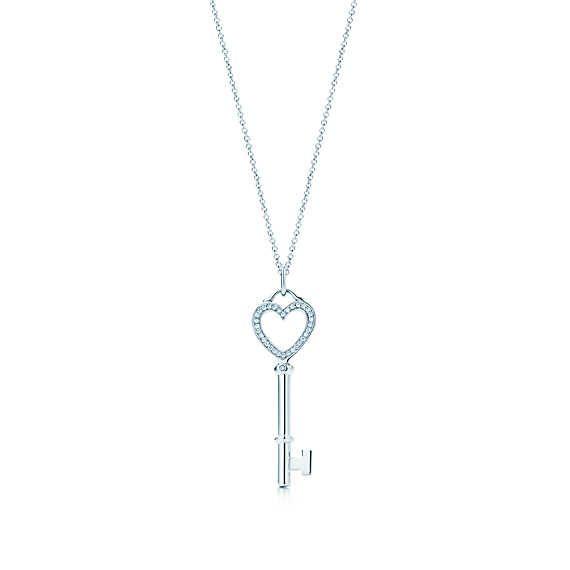 Tiffany keysheart key pendant tiffany key key pendant and tiffany tiffany keysheart key pendant aloadofball Image collections