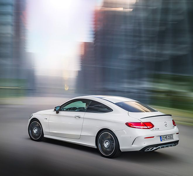 The New Mercedes Amg C 43 4matic Coupe With Images Mercedes C