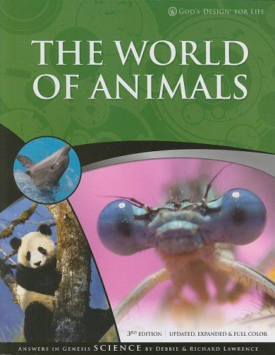 Ordering this for my 6th grader 2nd semester!  The World of Animals (God's Design for Life) by Debbie Lawrence