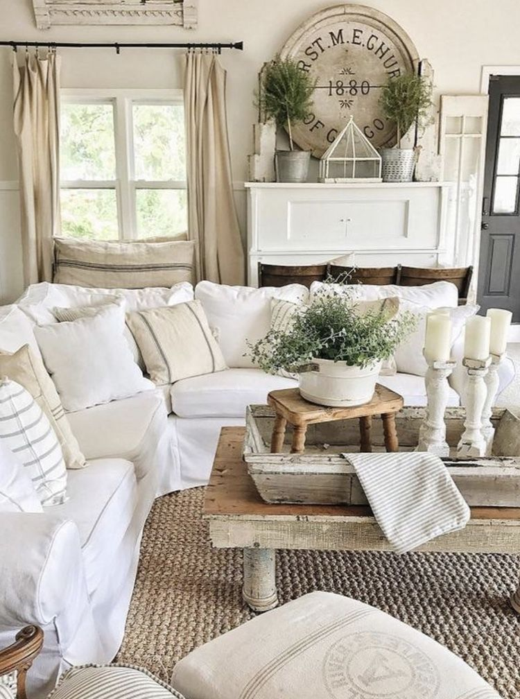 Rustic Living Room Ideas To Make Your Place Look Cozier Farmhouse Decor Living Room Farm House Living Room Modern Farmhouse Living Room Decor