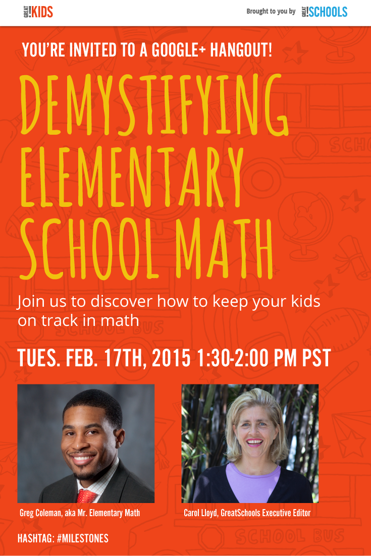 We\'re hosting a free online tutoring session with Mr. Elementary ...
