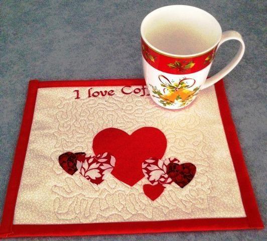 Mug Rug - Mini Placemat by Sew 4 Fun