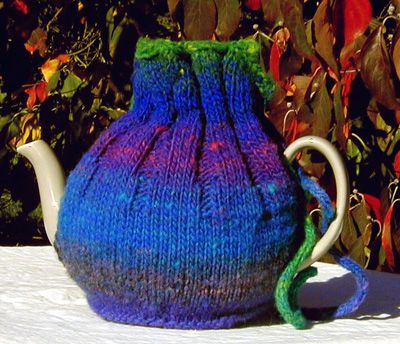 knitty.com: Kureyon Kozy...free pattern | tea cozy | Pinterest | Teteras