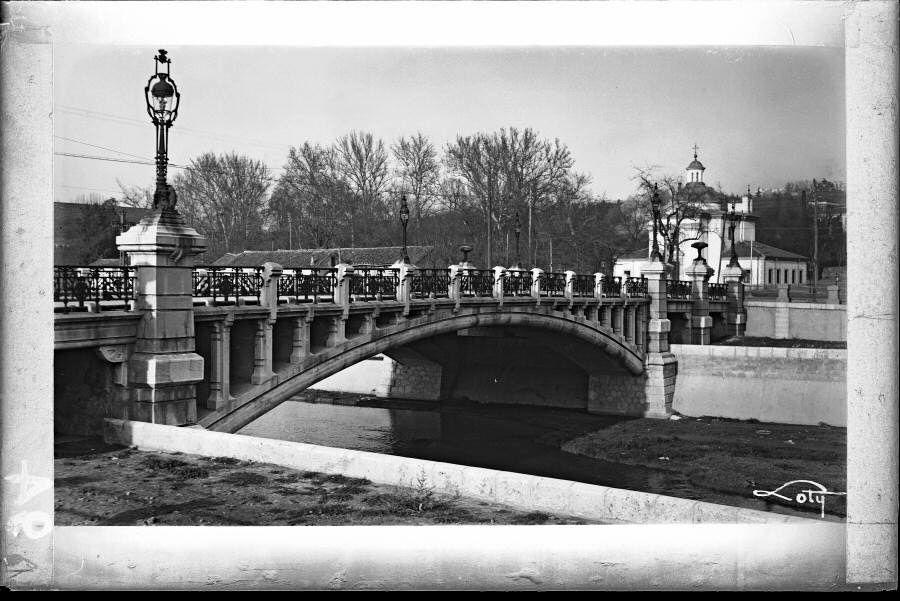 Puente de San Antonio de la Florida, años 30.