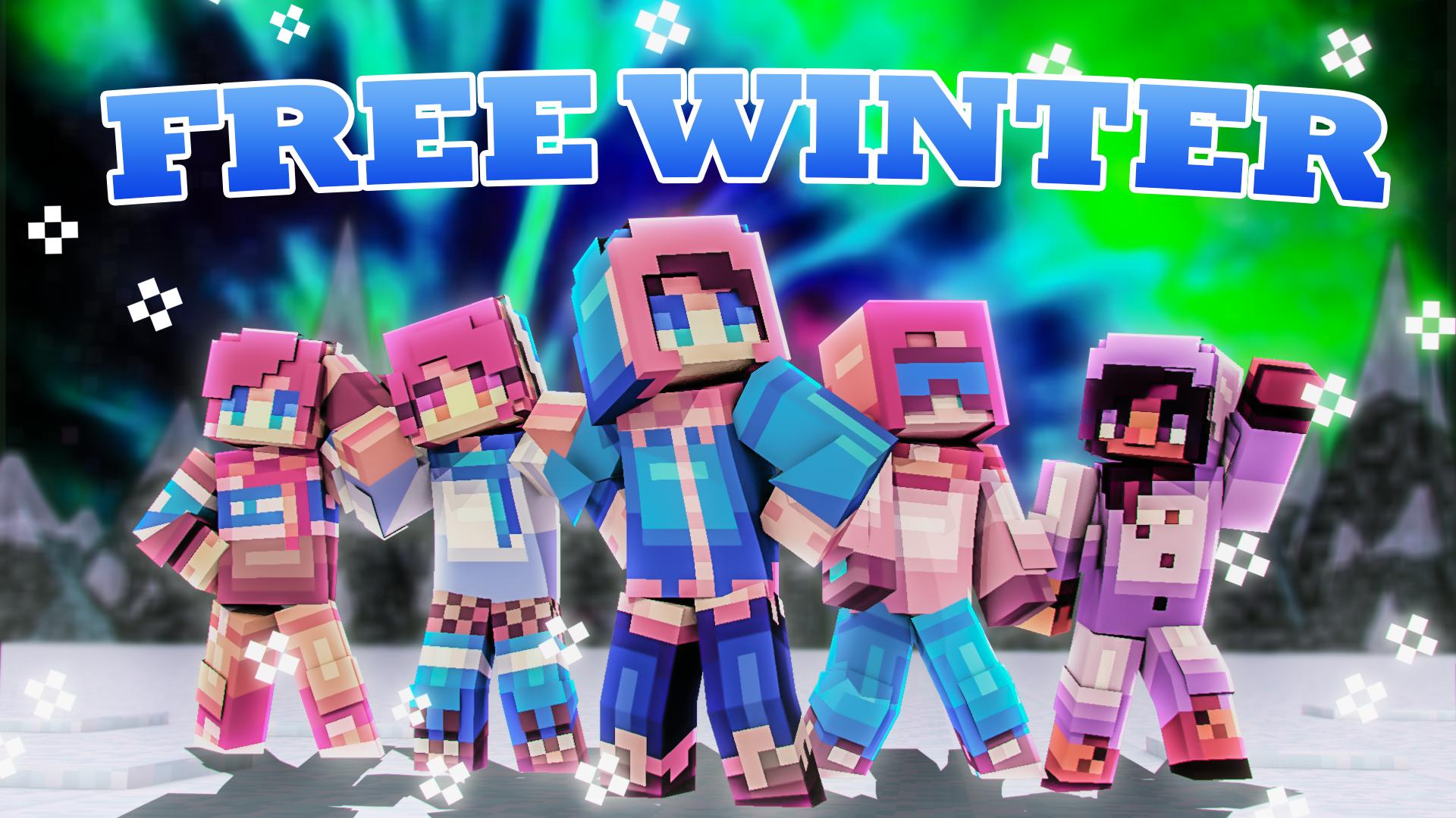 Free Winter  Minecraft Skin Pack  Minecraft art, Minecraft skin