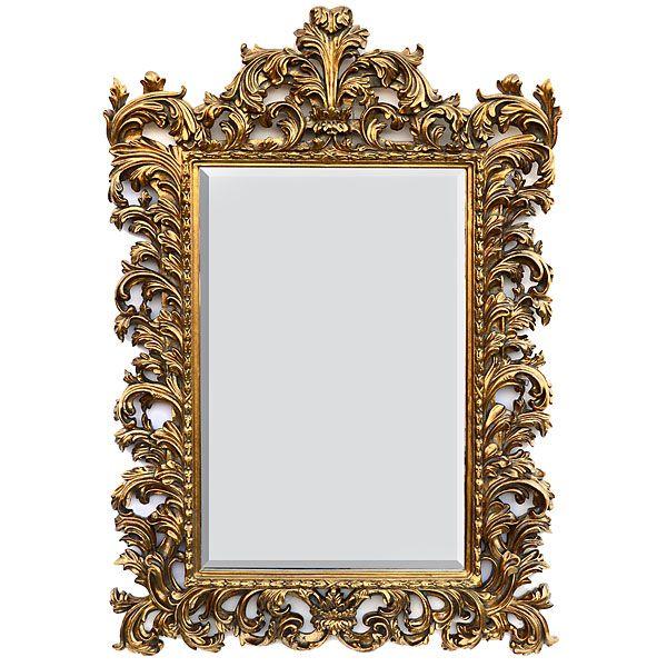 Martelle International LLC: Gold Wall Mirror