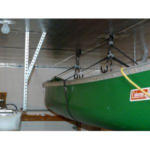 For 25 Heavy Duty Garage Utility Canoe And Kayak Lift Hoist