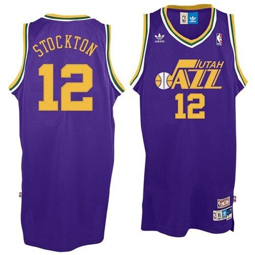 a1d7d6c46 The John Stockton   12 Utah Jazz Youth Throwback Swingman Jersey by Adidas  is designed not only for professional play on the basketball court but  style and ...