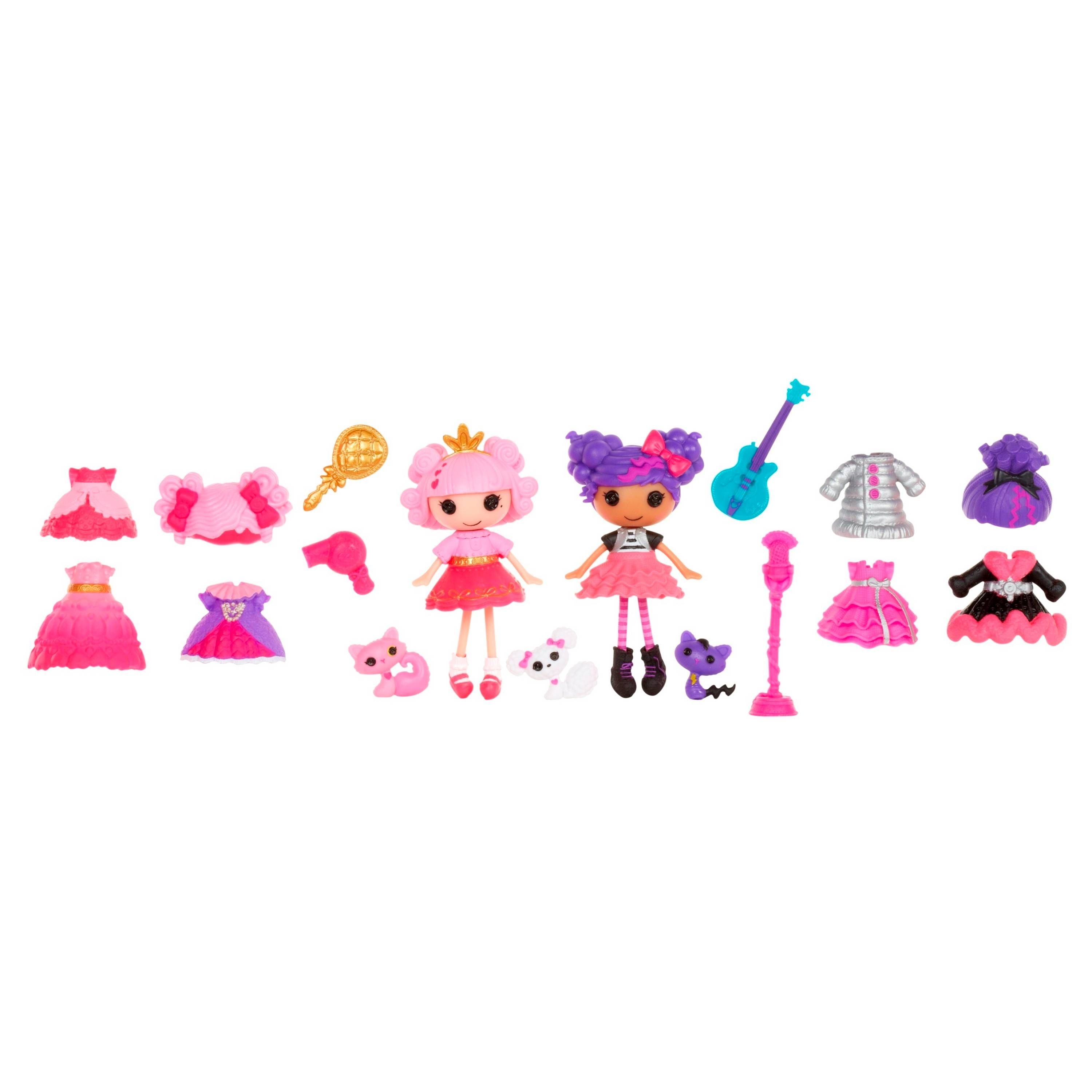 Mini Lalaloopsy dolls come with an adorable pet, mix and ... on