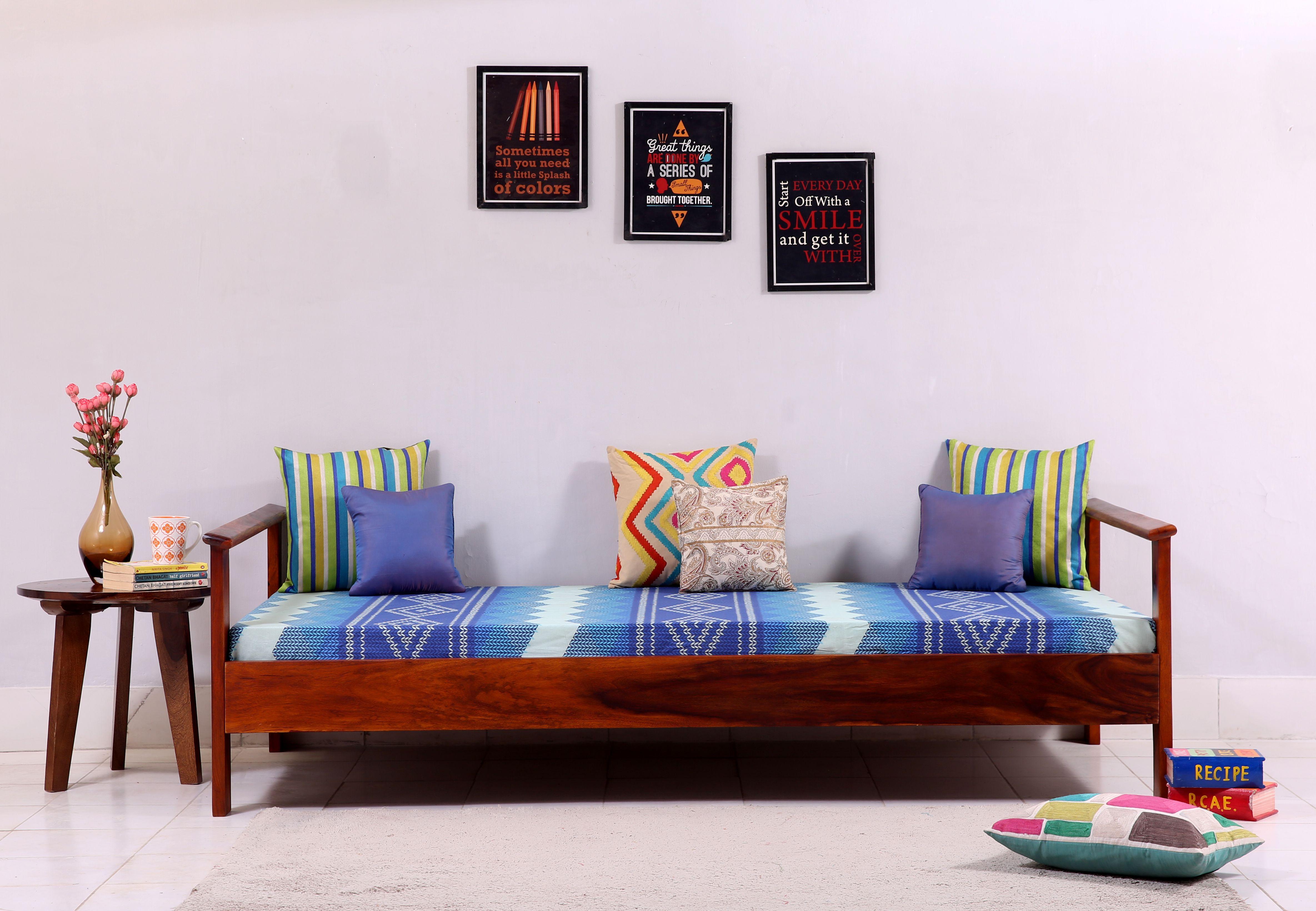 Buy Leona Divan Honey Finish Online In India Wooden St