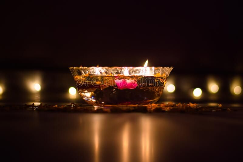 Happy Diwali – Colorful Clay Diya Lamps Lit During Diwali Celebration Stock Photo – Image of fire, colorful: 181381842