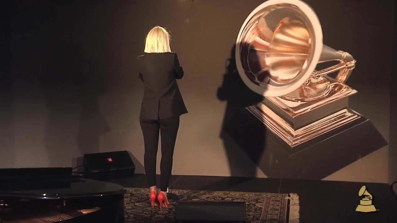 Sia chandelier live at the recording academy grammy sia performs big girls cry grammy nominated singersongwriter sia performs big girls cry from her latest album 1000 forms of fear at the recording arubaitofo Image collections